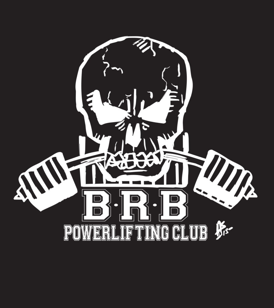 bridge road barbell powerlifting logo